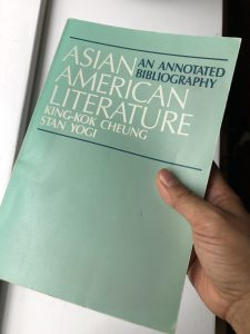 On Cheung and Yogi, Asian American Literature: An Annotated Bibliography by Denise Cruz